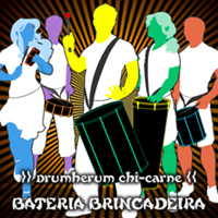 CD-Cover Drumherum Chi-Carne